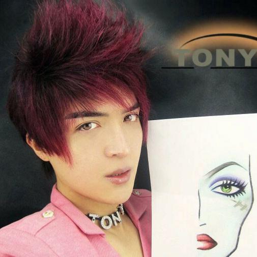 妆容设计手绘图分享展示