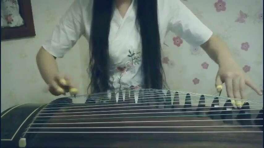 一个人张艺兴古筝谱图片