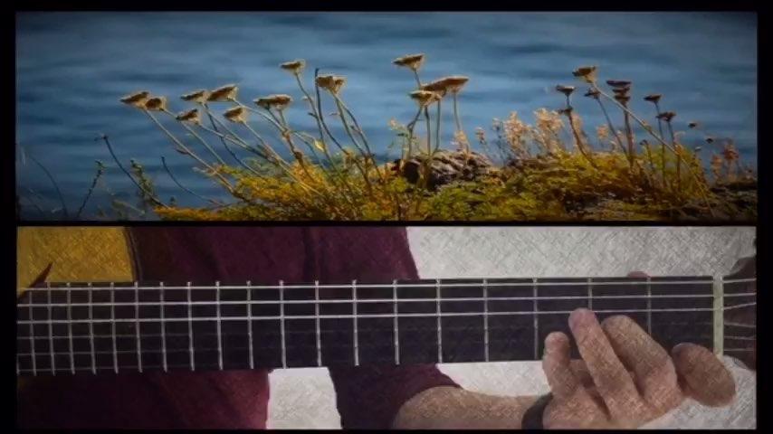 贝加尔湖畔 吉他指弹谱