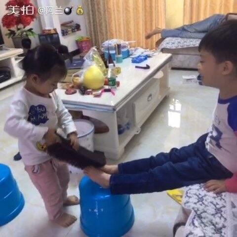 小美女快来帮我洗一下脚!哈哈!-阿兰的美拍韩国秀美女真人图片
