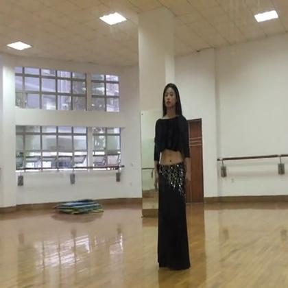 2016年新学的唯一一支舞蹈。肚皮舞鼓舞:Let's do it.(潇潇学习 茜茜教学)