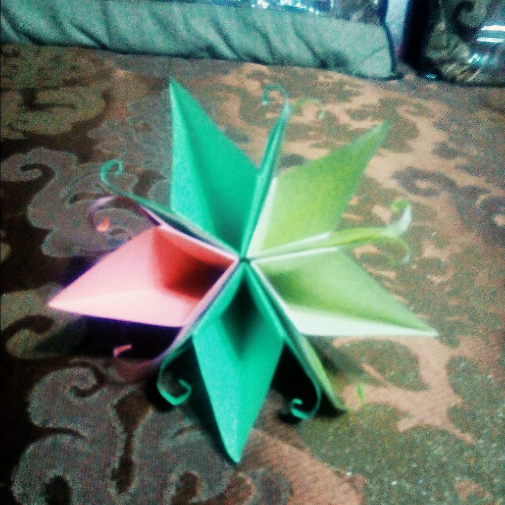 手工制作大全折纸烟花