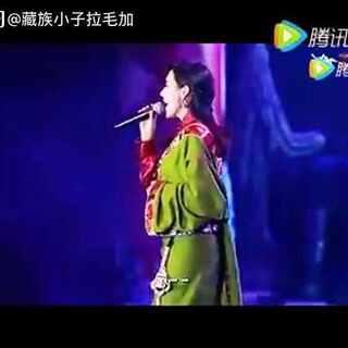 藏族歌手泽旺拉姆