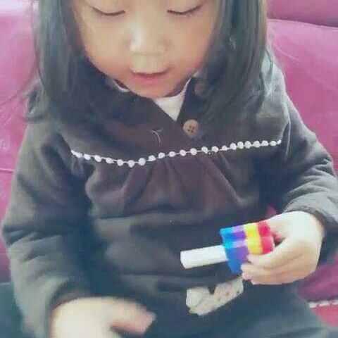 #宝宝#淘奇小花,朵朵密码~-苡朵视频的美拍教学车震.图片
