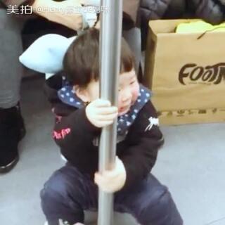 Henry 的地铁#钢管舞#➕#seve舞蹈#