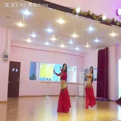 肚皮舞:这么近 那么远 (茜茜 潇潇)#舞蹈#
