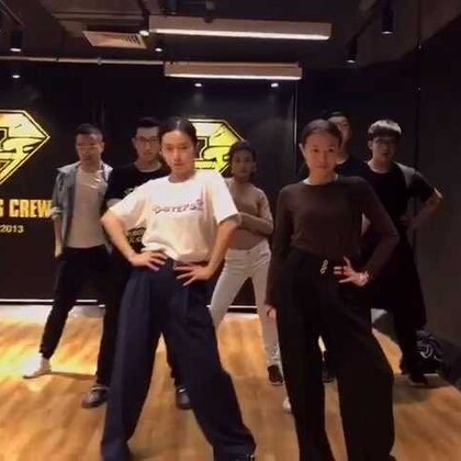 Dadisco 白莲小分队 今夜放炮编舞《24K Magic》 难死我了记不住😂#waacking##舞蹈##5分钟美拍#