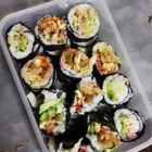 #全民吃货拍##吃秀#卖相太差的手工寿司😂😂😂😂#英国##英国美食#