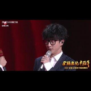 """2017#安徽卫视春晚#@薛之谦 怼""""心机boy""""李荣浩:他给自己写《模特》我就不懂了...😂"""