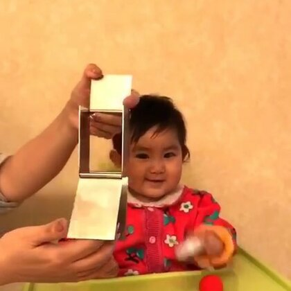 小魔术-神奇的盒子玩消失术!亮眼睛👀#宝宝##萌宝宝#