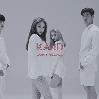 ✨Don't Recall -K.A.R.D✨DSP16年12月推出的混声团体~旋律好听洗脑!~只认得全昭敏april前队长~这个组合每次回归会有一个隐藏成员出现~上一次是许英智~有喜欢这个舞蹈的吗?#韩国舞蹈##K.A.R.D##韩流音乐#