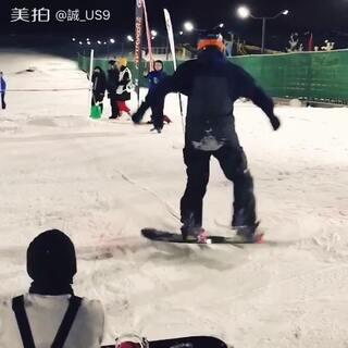 #单板滑雪#Ollie赛