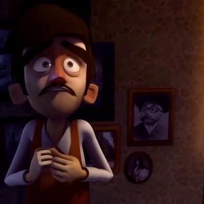 搞笑动画短片《乌龙侦探》 - 好心做坏事.😃😃😃