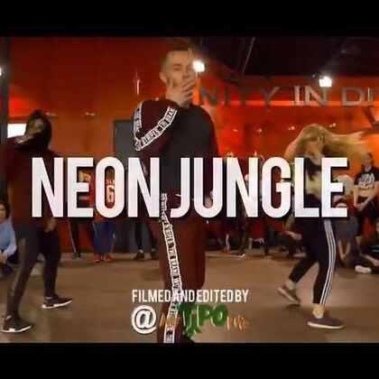 Neon Jungle - Braveheart #舞蹈# Hamilton Evans Choreography 【美拍微博同名:I_AM_Dancer】