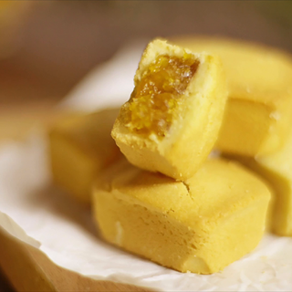曲奇变身凤梨酥,懒人也能吃到真正的凤梨酥! #罐头小厨##我要上热门##美食总动员#
