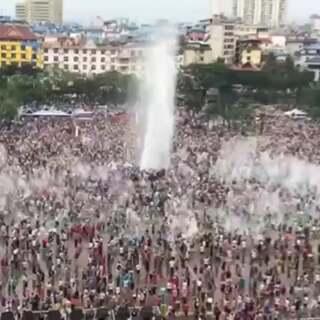 #泼水节# 傣族泼水节