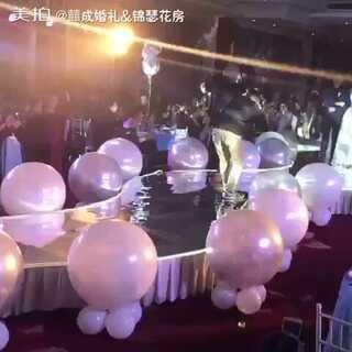 哇,美爆了😍😍😍 婚礼地爆#最美婚礼瞬间##地爆球##囍成婚礼#