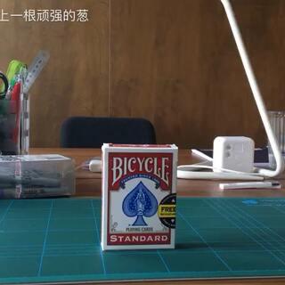 一次洗牌,立马成新牌顺序。#纸牌魔术##搞笑#