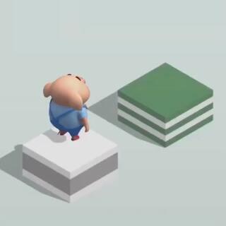 小猪教你玩微信跳一跳!高分秘籍全在这儿啦#微信跳一跳小游戏#