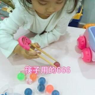 筷子用的666😄#宝宝##日志#@美拍小助手 @宝宝频道官方账号