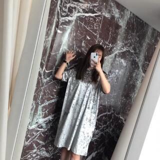 丝绒裙 #穿秀#