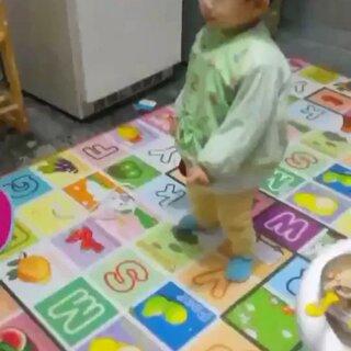 潤寶貝27個月自遍的舞蹈《大夢想家》合集,兒子棒棒噠!#宝宝##音乐#
