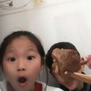 #i like 美拍##吃饭#
