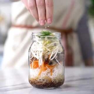 简易的罐子腌菜哦😊#美食##家常菜##热门#