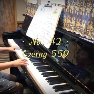 车尔尼599第42条。我发现现在我们练琴有个问题,就是太容易掉以轻心,这也是学习任何学科的弊病。开始的时候不忙碌,到最后三天抱佛脚🤦🏻♀️,然后搞到我跟柚子都是各种烦躁着急上火。练习三天录得,也只能这样了,今晚回课,等老师知道吧,哎。#钢琴##车尔尼599##五岁半#