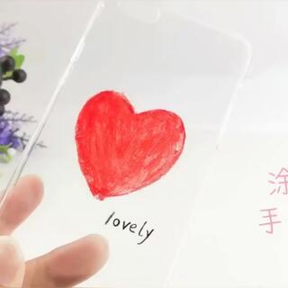 涂鸦手机壳❤️❤️❤️打算出去走走看看,充实下自己给大家带来更多的创意手工,谢谢两年来的支持哦…#手工##涂鸦##diy手机壳#购买学长同款的手工制作材料,点后面看👉https://shop59172392.m.taobao.com