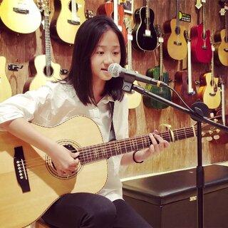 Fight吉他坊 学员演翻弹 【离人愁】#音乐##吉他弹唱##小美女#