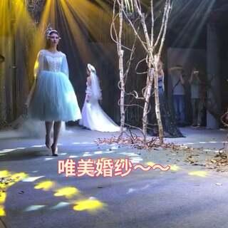 婚纱秀~@小冰 @美拍小助手 #精选##我要上热门##婚纱#